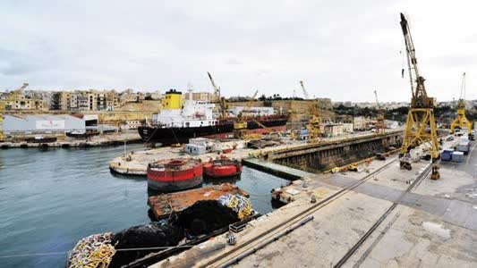 Cospicua, Dry Docks